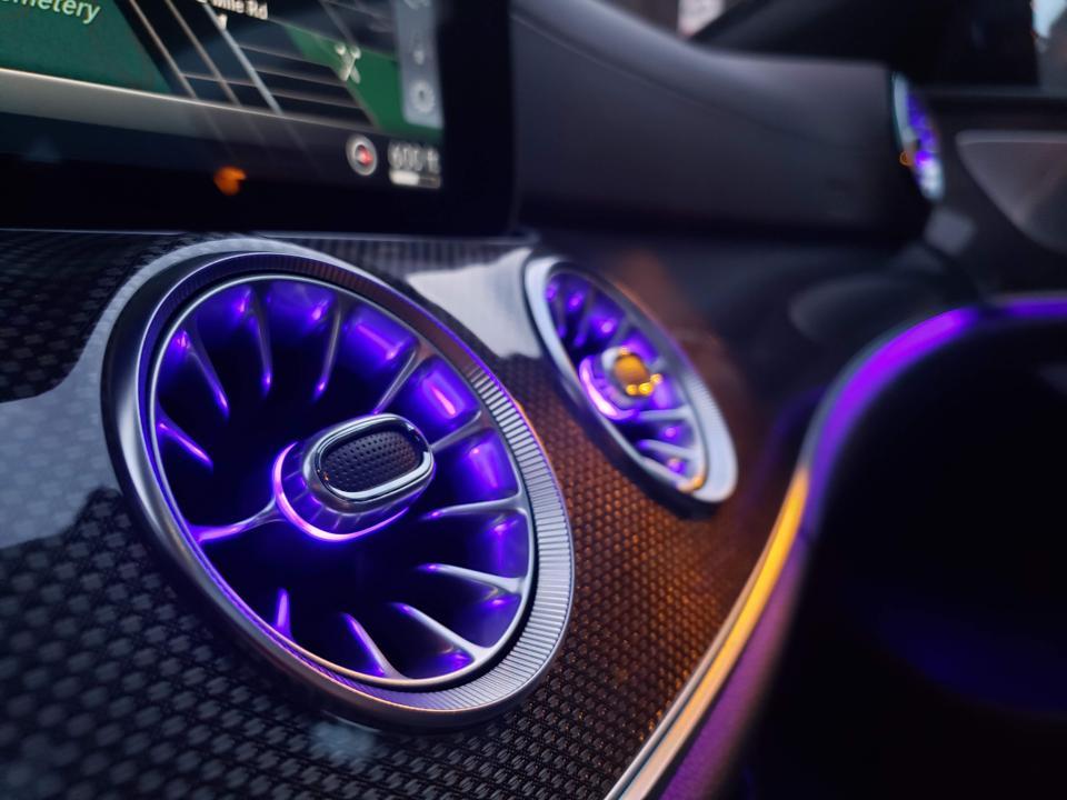 Mercedes-Benz LED Air Vents