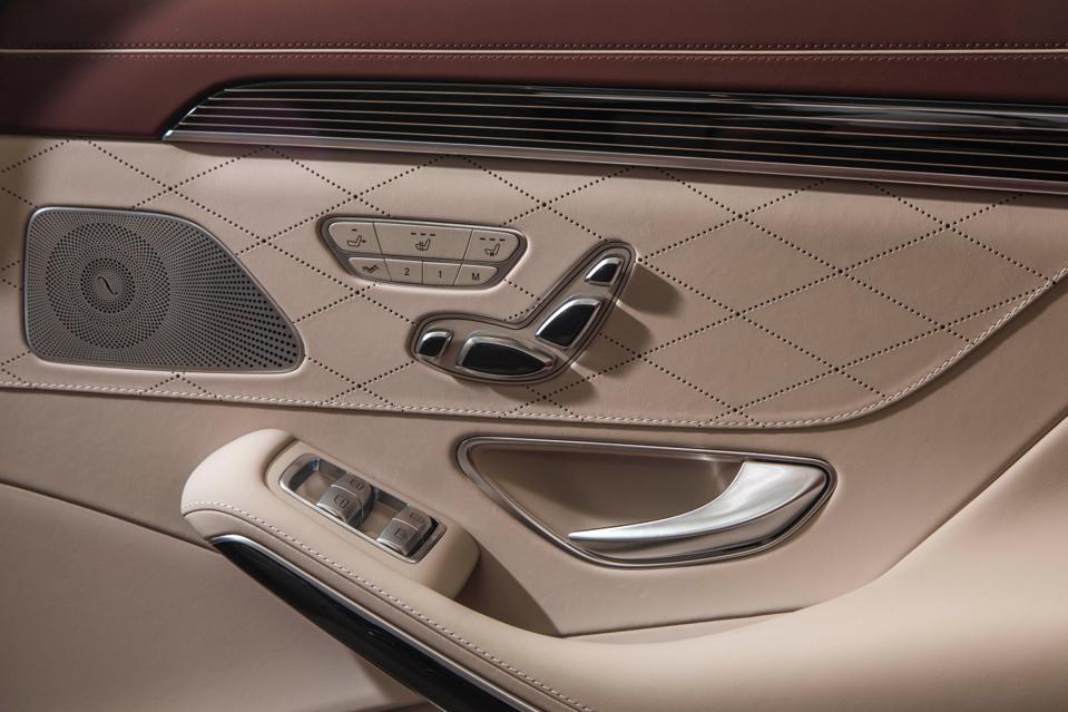 Mercedes-Benz interior door handle