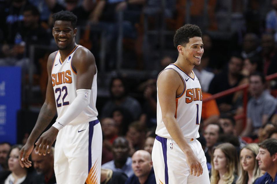 Phoenix Suns v Miami Heat