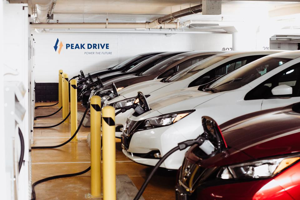 EVs as virtual power plants