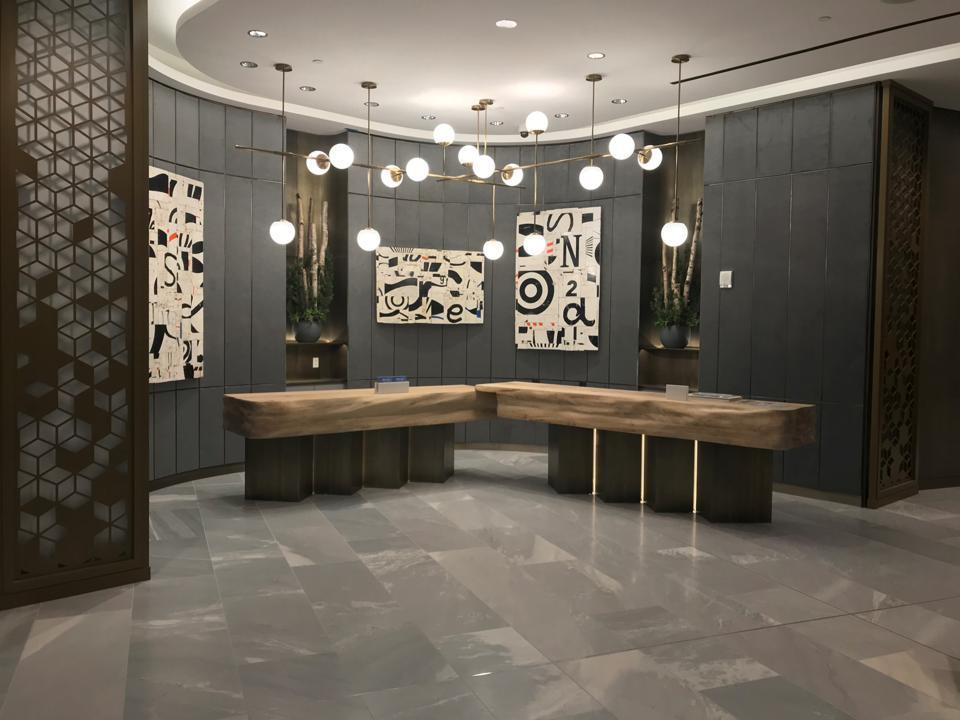 The recently-opened JW Marriott in Edmonton, Canada.
