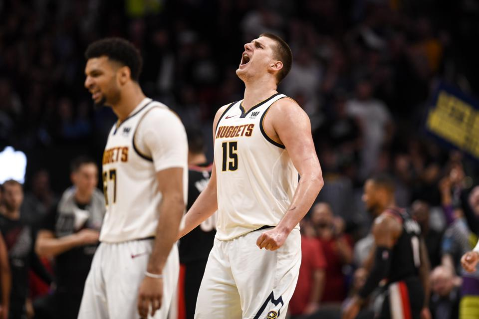 Image result for jokic nuggets 2020