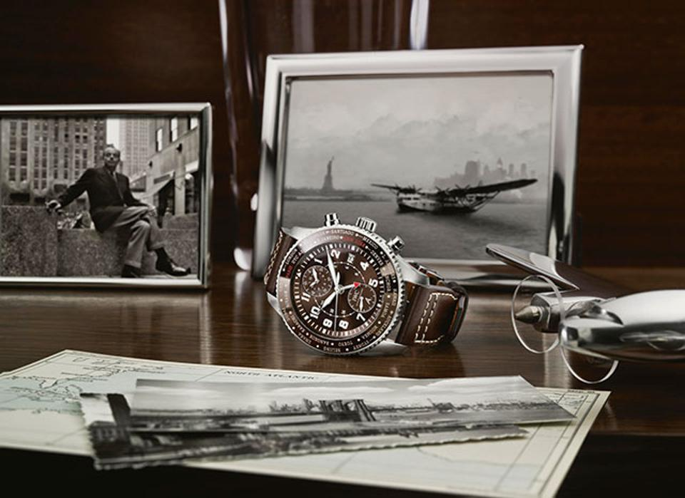 From Paris to New York: IWC Limited Edition Pilots Watch Honors Historic Saint Exupéry Flight