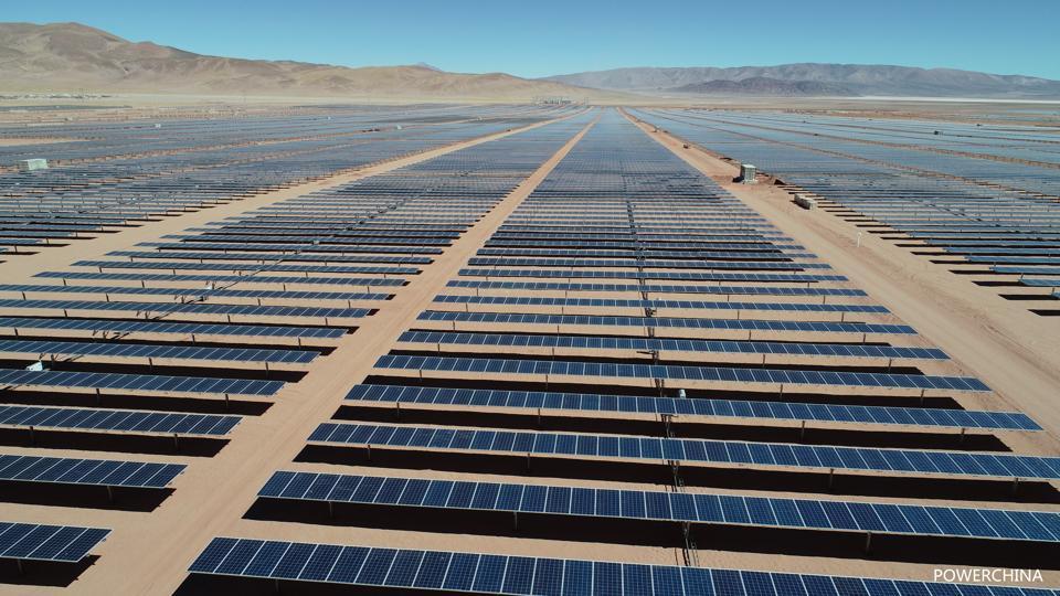 Argentina's 300MW Cauchari solar project.