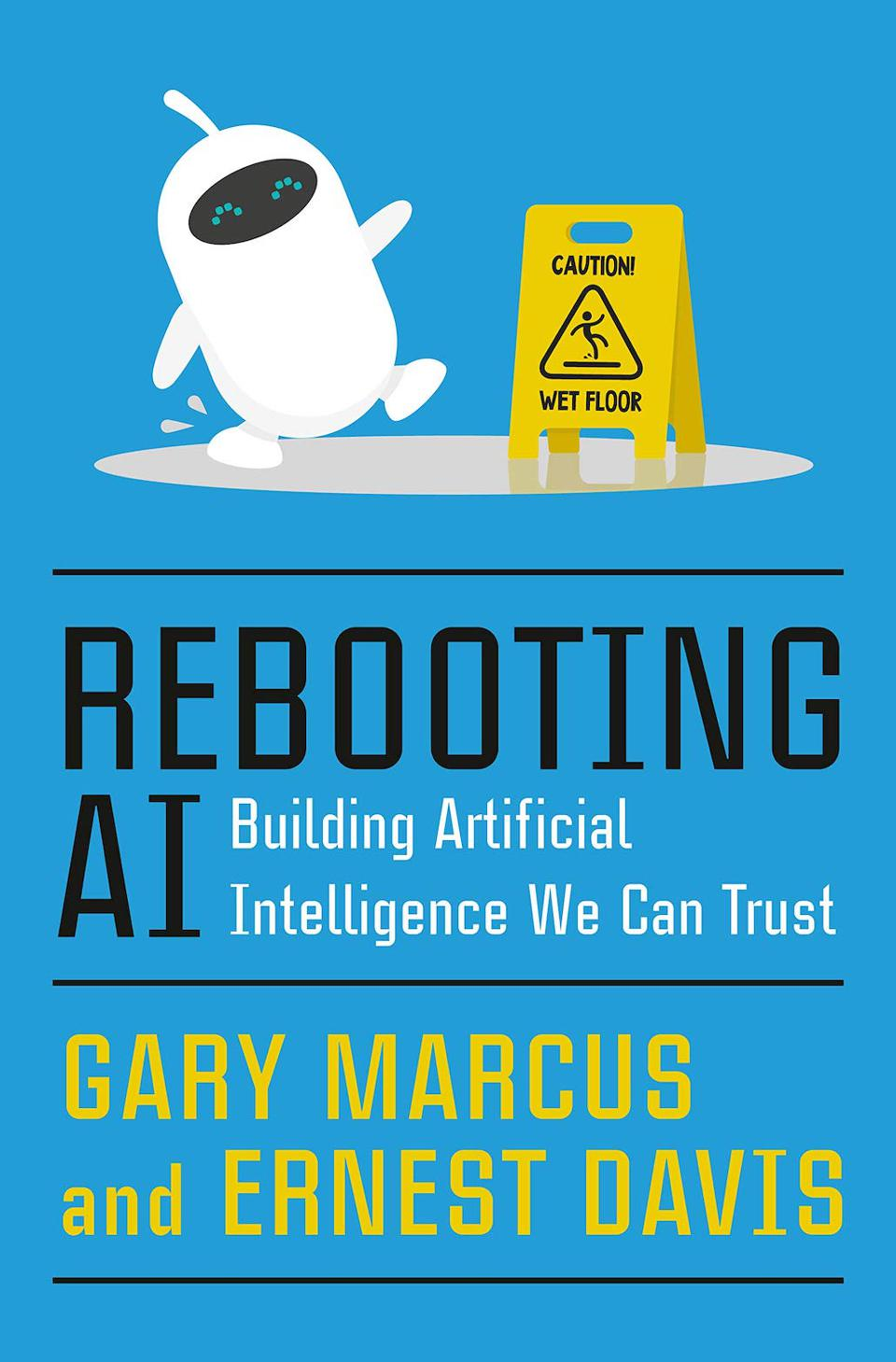 Rebooting AI: Building Artificial Intelligence We Can Trust by Gary Marcus and Ernest Davis