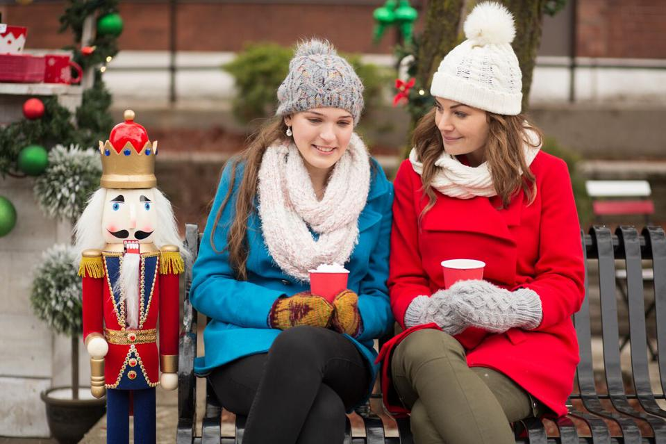 Upcoming made-for television movie ″Christmas Chalet″ on UP TV.
