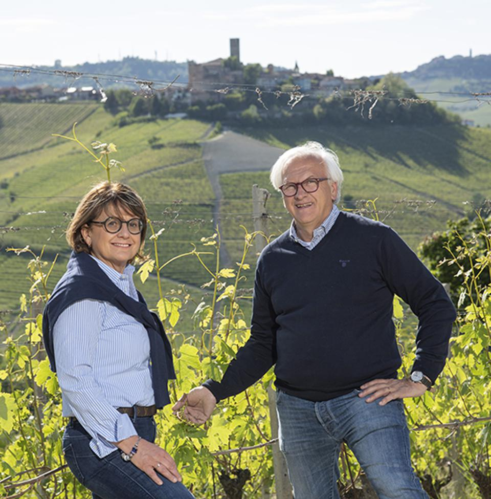 Paolo and Luisella Manzone
