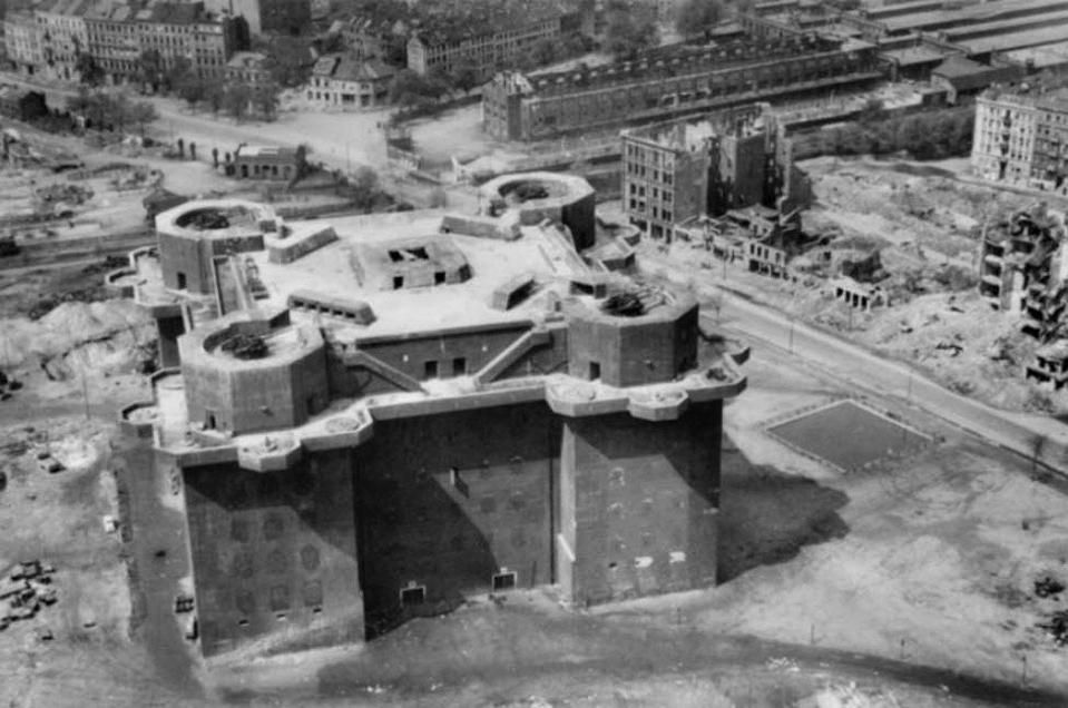 Historical photo of Bunker St. Pauli