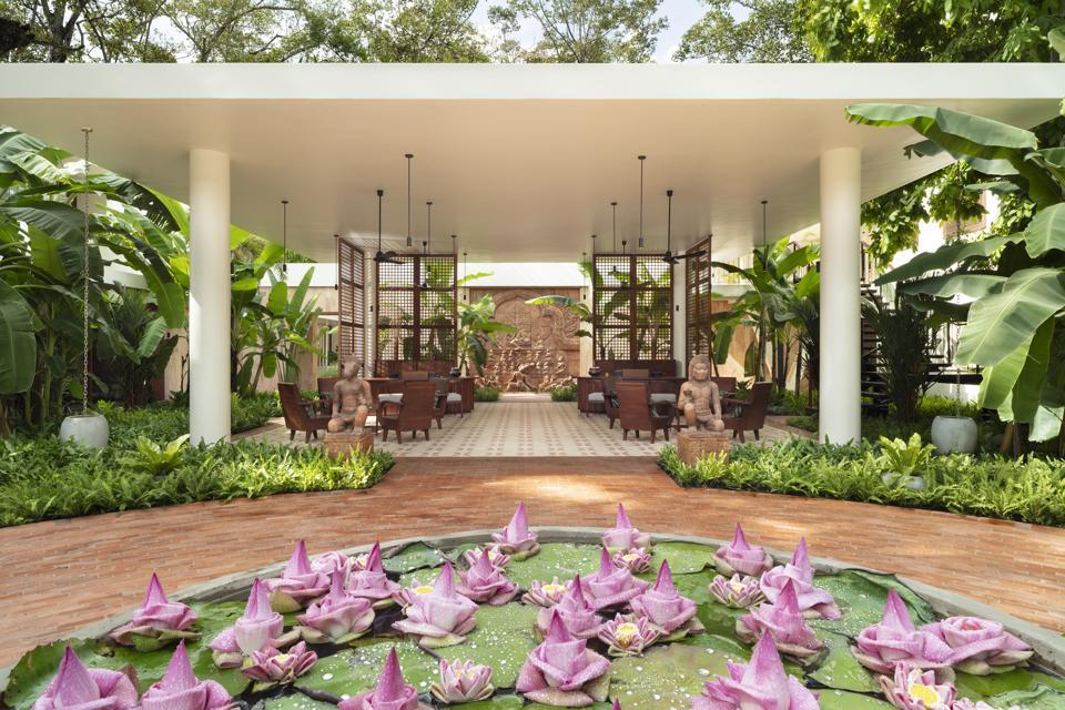 lobby hotel fcc angkor siem reap cambodia