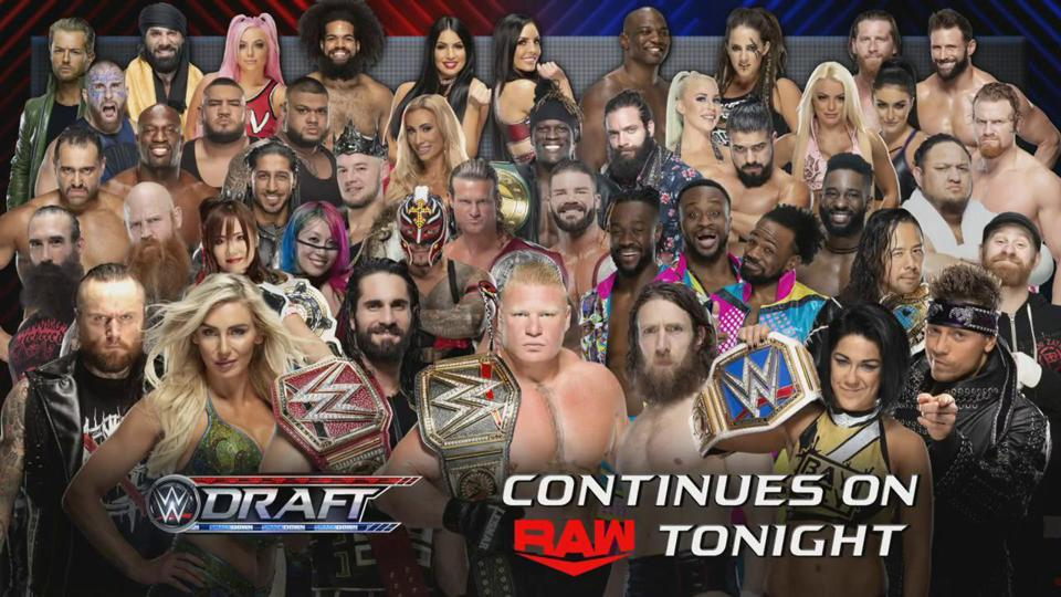 WWE Raw Results: News And Notes After Night 2 Of WWE Draft