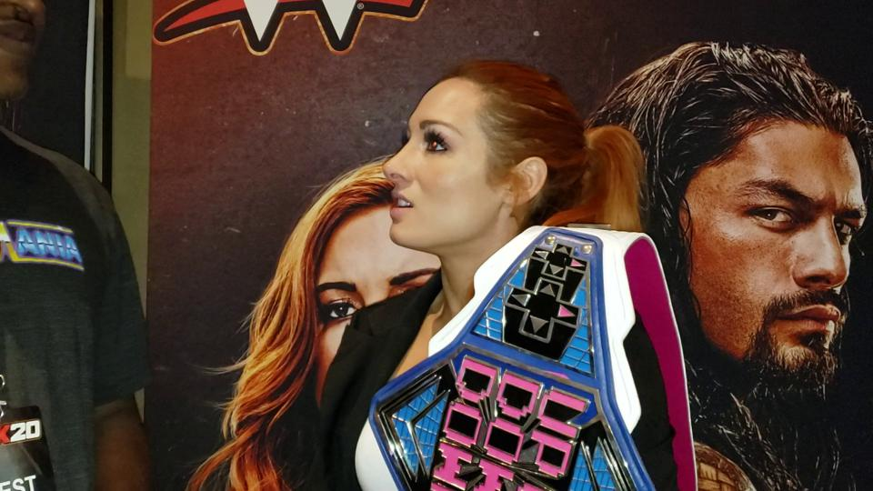 Becky Lynch discusses fan reactions to storylines.
