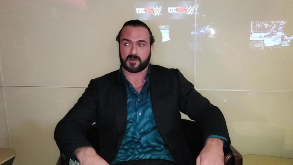 Drew McIntyre discusses fan reactions to storylines.