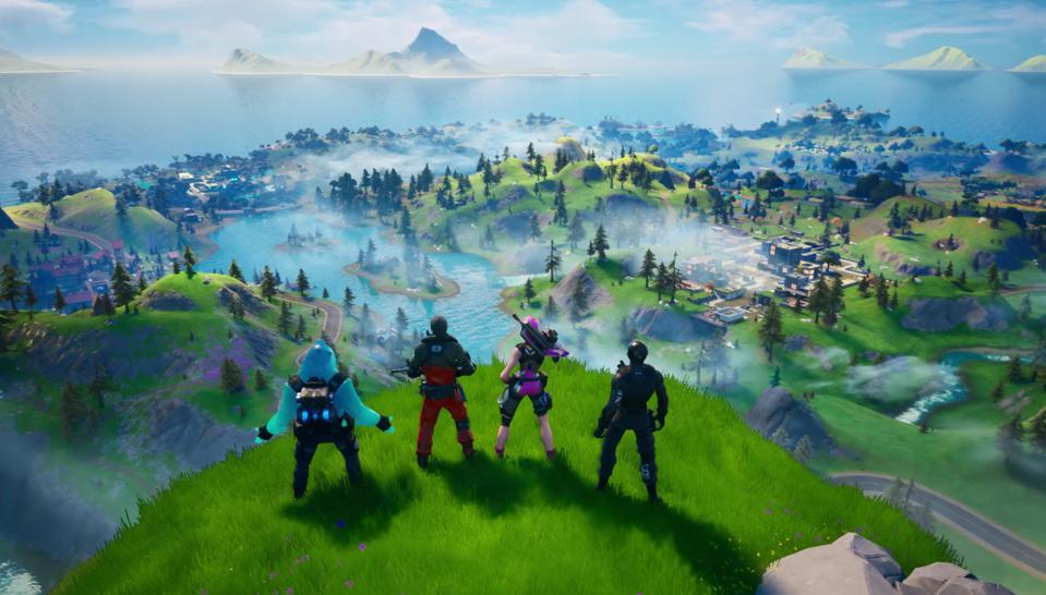 'Fortnite' Is Finally Back Online With A New Map And Massive Changes