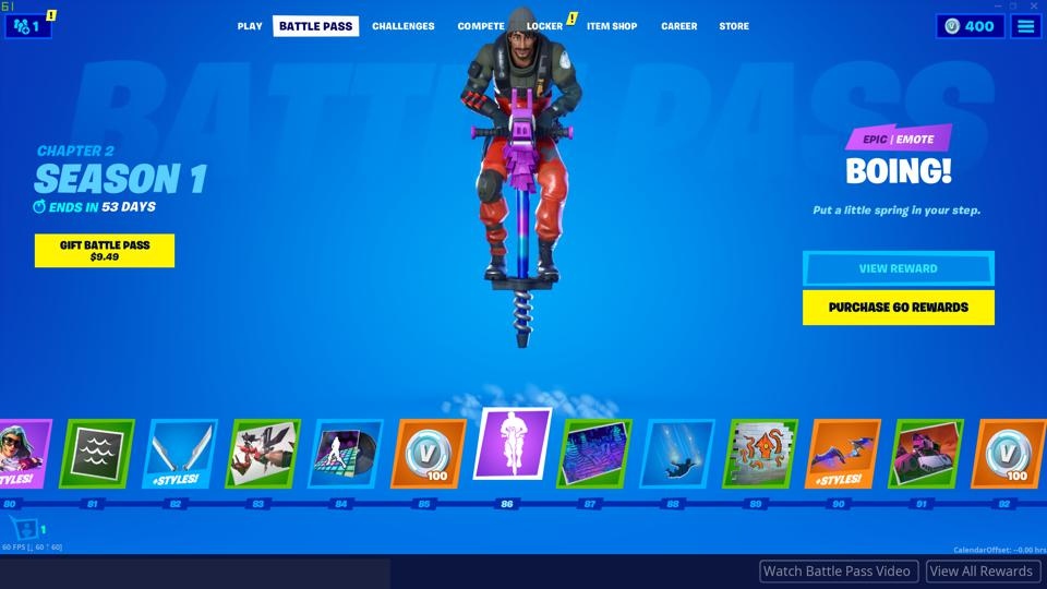 Heres Everything In The Fortnite Chapter 2 Season 1