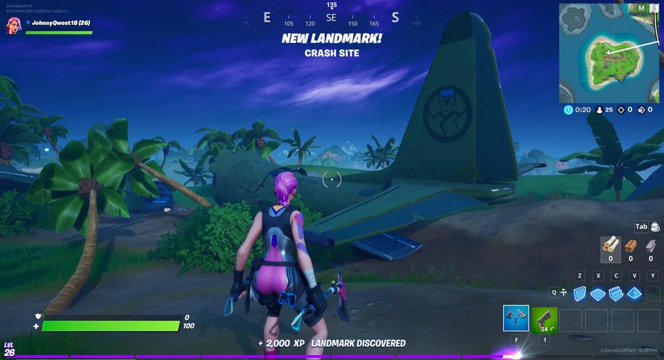 Fortnite Map Landmark Locations Where To Discover 10 Landmarks