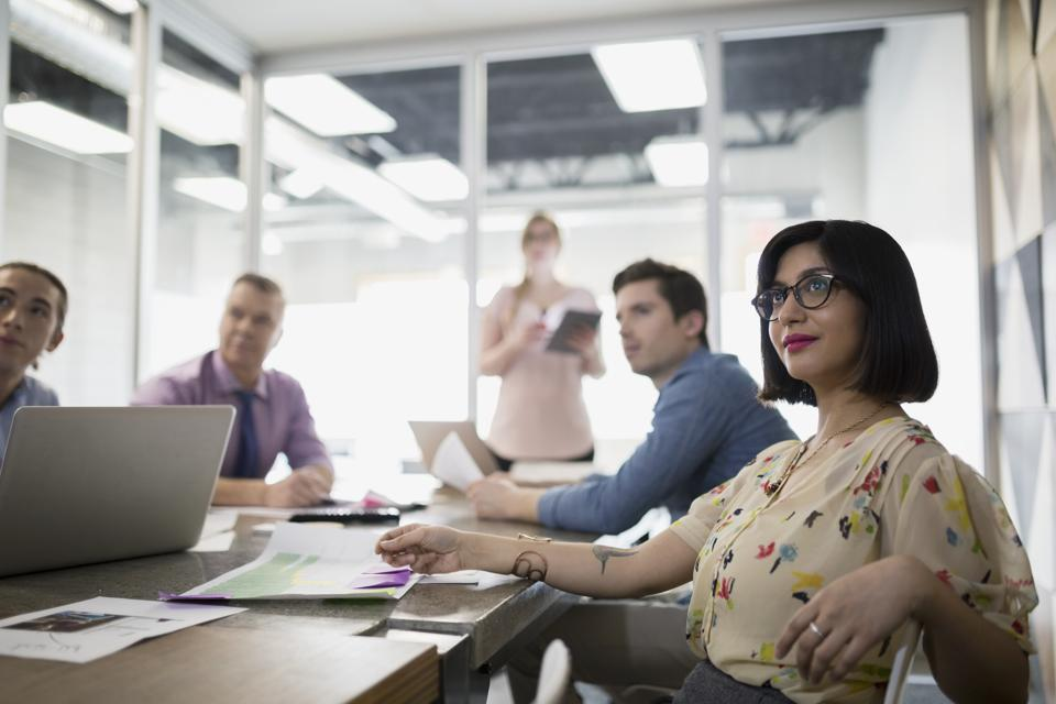 Positive work culture observed during a job interview