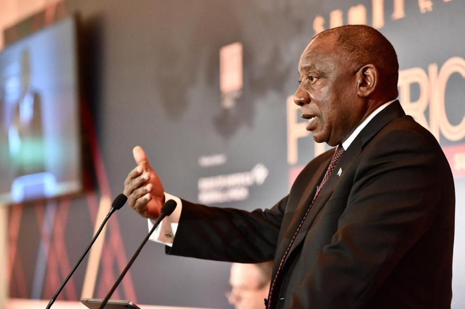 With A New Free Trade Area And Its $3 Trillion Combined GDP, Africa Expects Business To Flourish, South African President Says