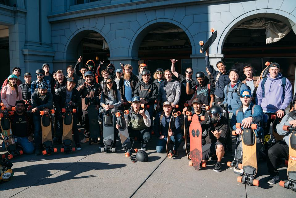 Boosted Board events