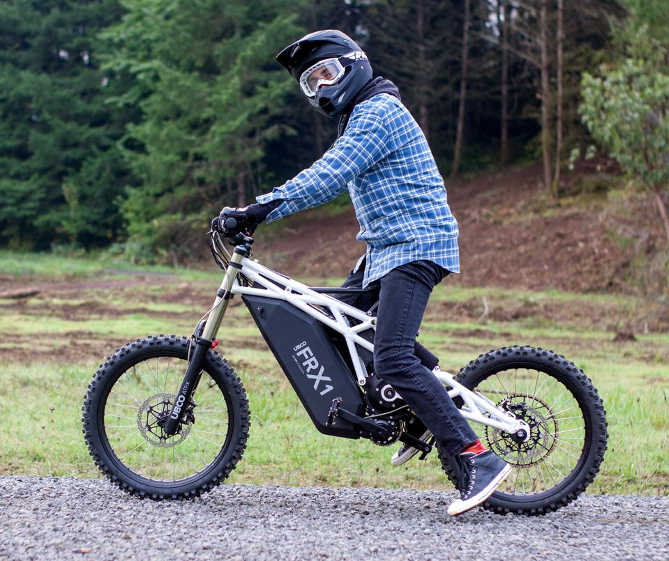 EV Maker UBCO Secures New Funding, Shows Off Bonkers FRX1 Electric Bike