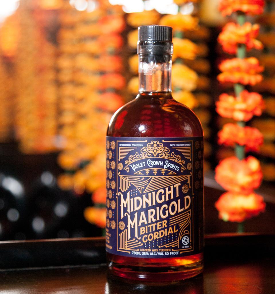 Midnight Marigold liqueur