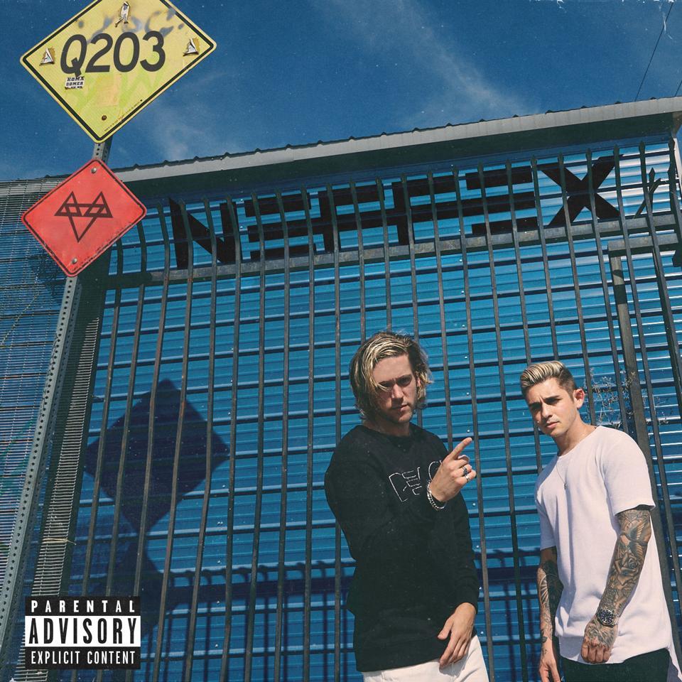 NEFFEX - Q203 EP cover art (Courtesy of 12 Tone Music)