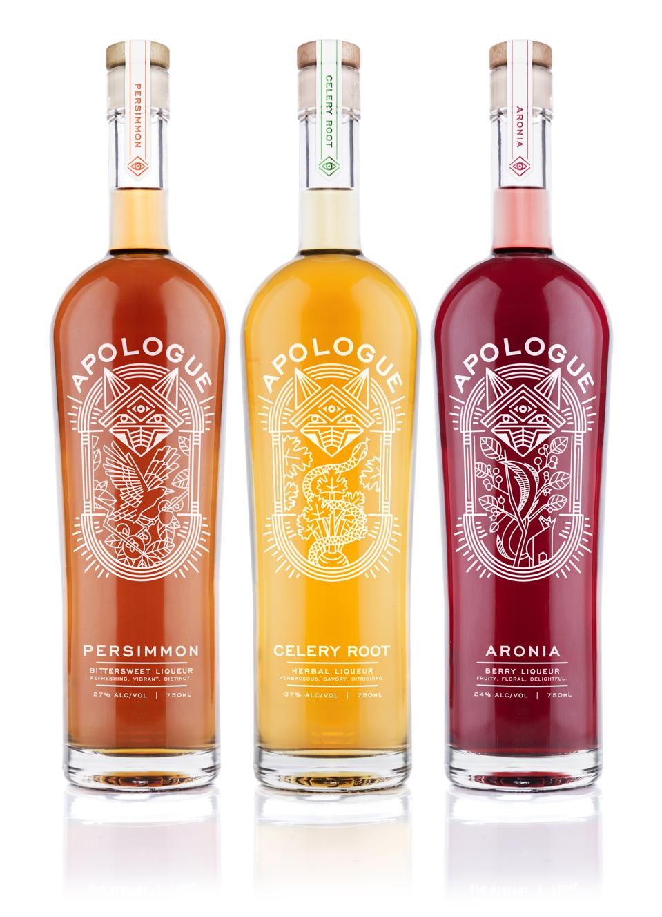 The Apologue family of liqueurs