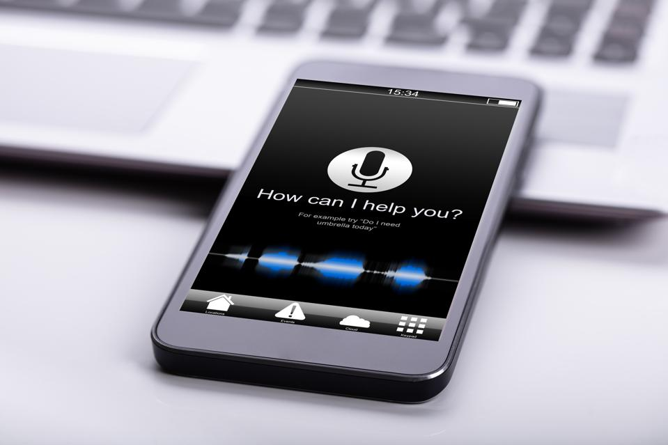 Voice assistants can help users find music.