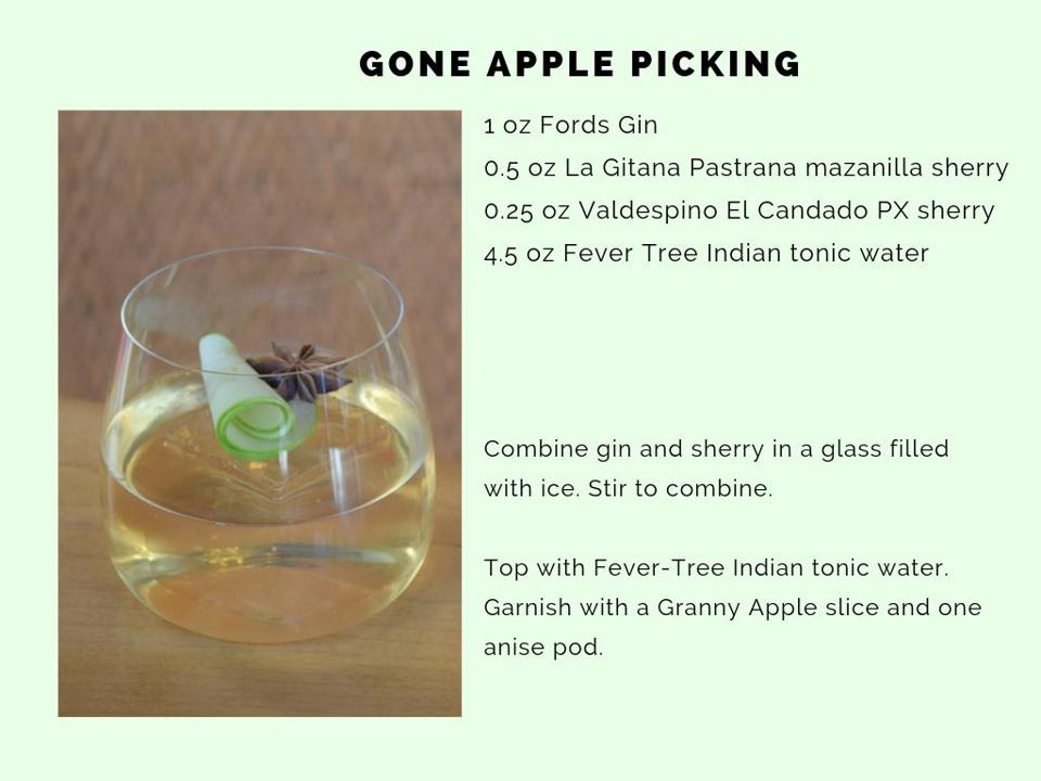 The Gone Apple Picking from Jaleo by Jose Andres.