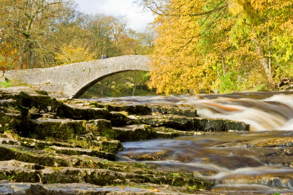 Beautiful natural scenery in Yorkshire.