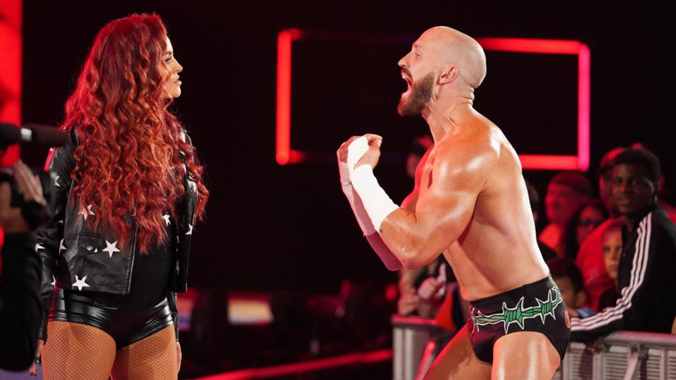 Mike Kanellis rlease Maria Kanellis WWE Raw Friday Night SmackDown Draft