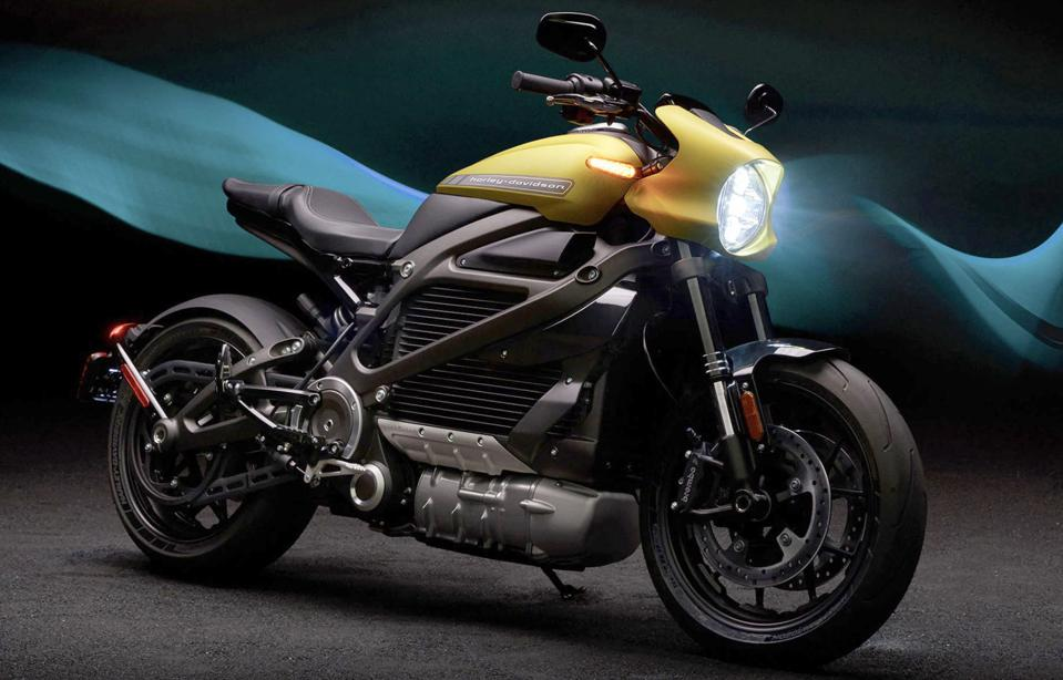The Harley-Davidson Livewire electric motorcycle is a big bet by The Motor Company.