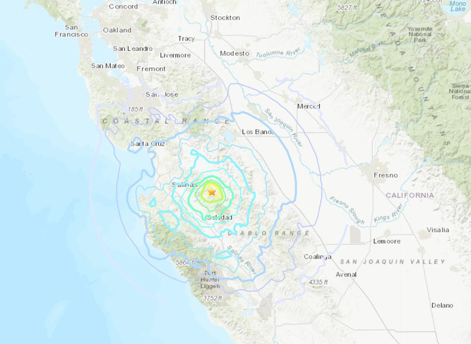 Pair of Strong Quakes Shake Central California: Here's Everything You Need To Know