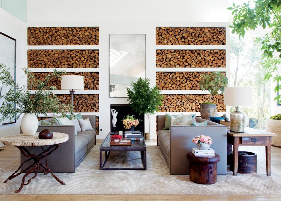 Patrick Dempsey's living room