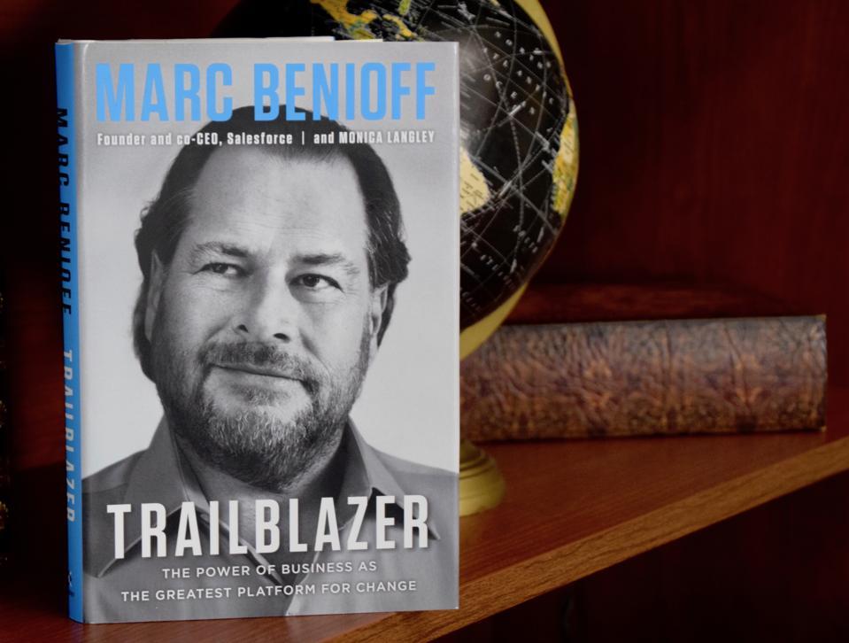 Trailblazer, the new book by Salesforce founder, Marc Benioff