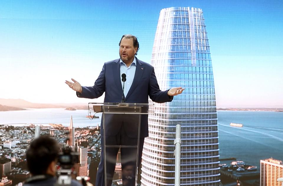 Salesforce Tower: Check out San Francisco's newest light show
