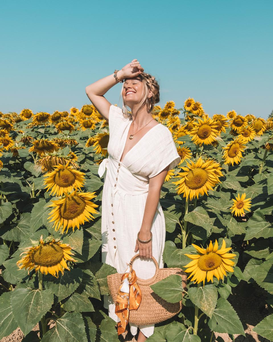 The Blonde Abroad's strong social media following has helped her curate her travel tours.