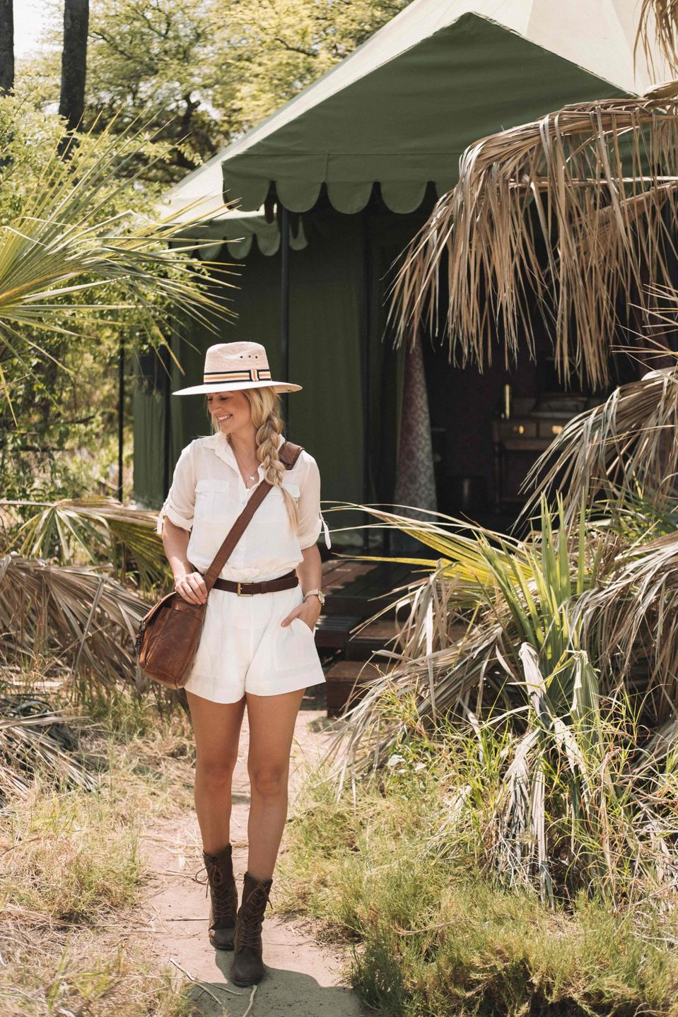 After moving to South Africa, The Blonde Abroad launched her female-only travel tours.