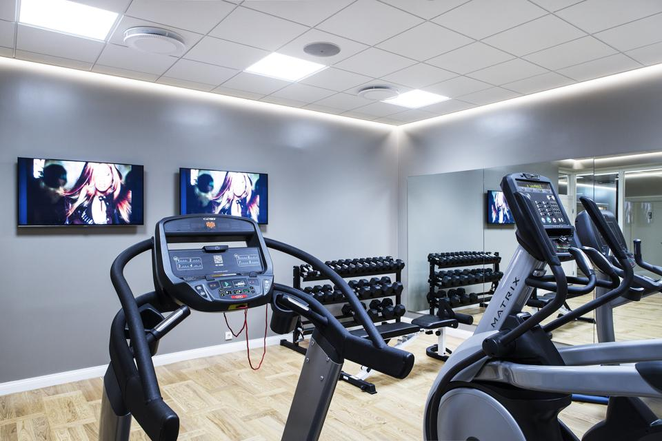 Spa Fitness Room