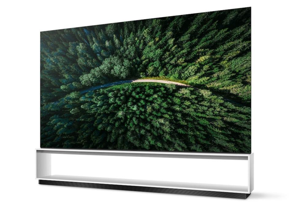 The LG OLED88Z9 OLED TV.
