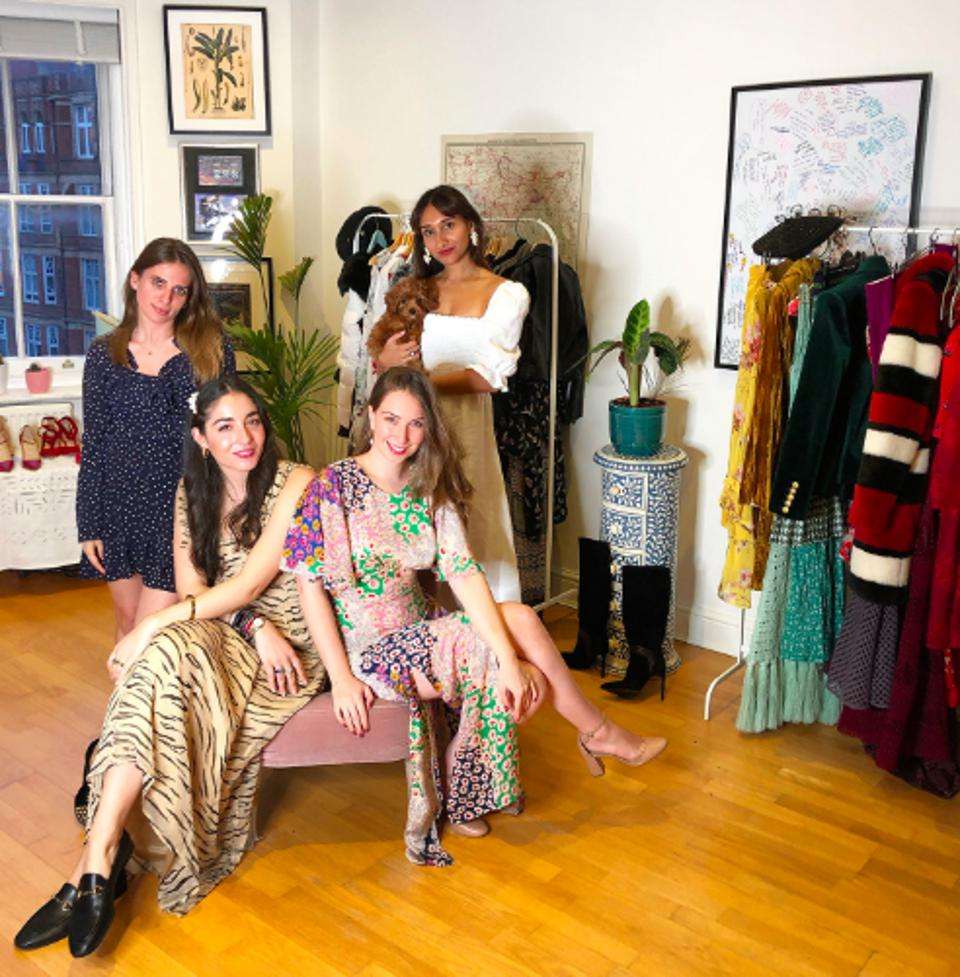 The ByRotation, with founder Eshita Kabra (back right)