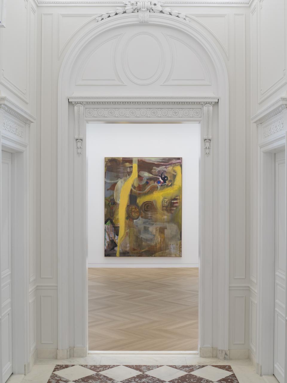 Albert Oehlen, 'Fn 31,' 1990, oil on canvas.