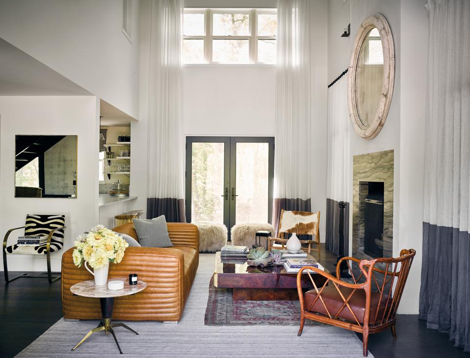 Ellens living room in Sag Harbor