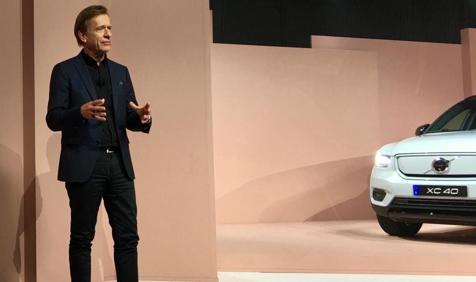 Volvo Targets 40% Carbon Cut For Vehicles And Factories As It Rolls Out Electric Crossover