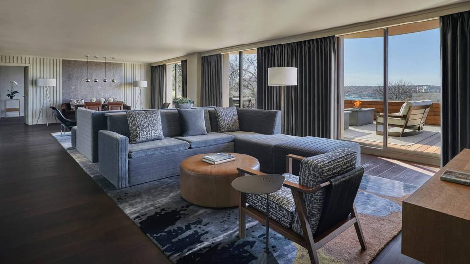 Congressional Suite at Four Seasons Hotel, Austin, Texas