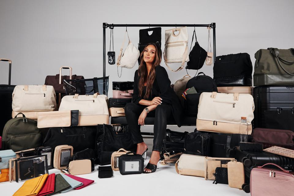Shay Mitchell's travel brand, BÉIS, features a stylish and affordable collection for the woman on-the-go.