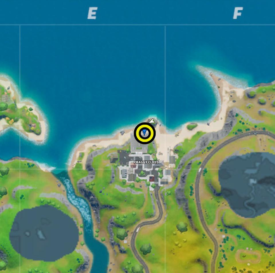 Fortnite Letter O Location Where To Find The Hidden O