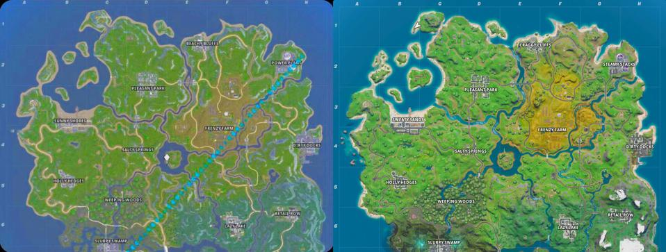 Fortnites New Map Leaked A Month Ago And Everyone Thought