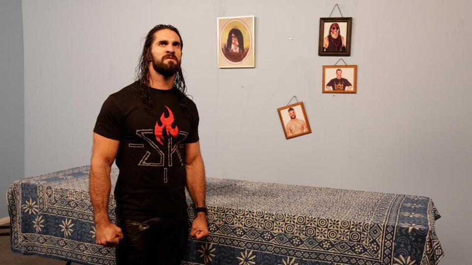WWE: Seth Rollins and Bray Wyatt