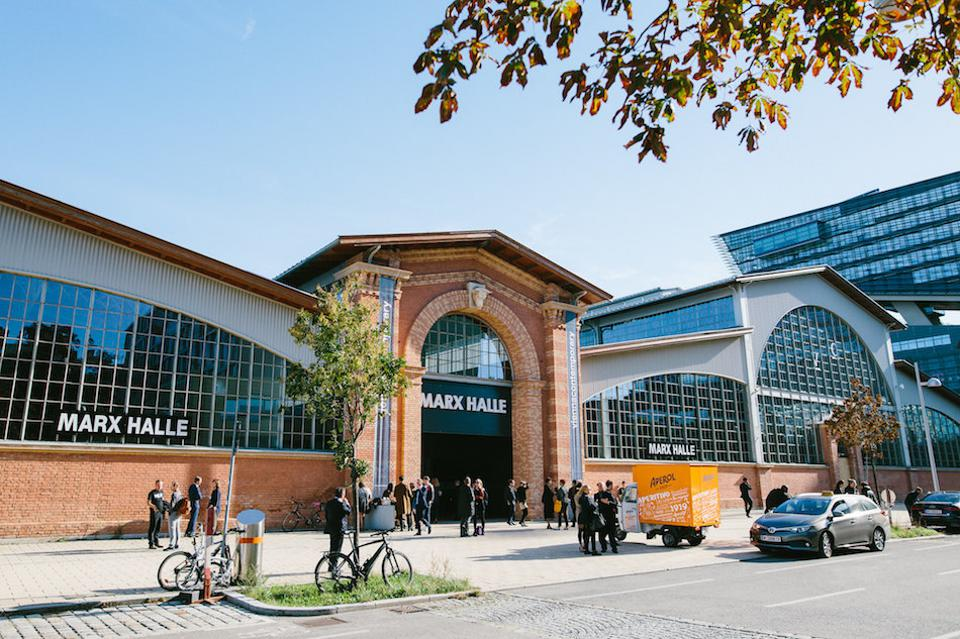 Marx Halle where Vienna Contemporary art fair is held annually