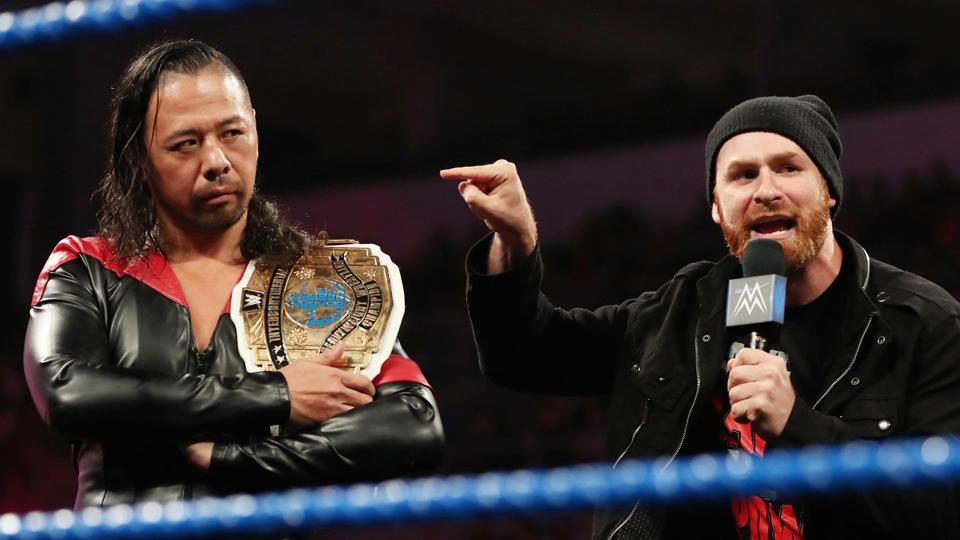 WWE: Shinsuke Nakamura and Sami Zayn